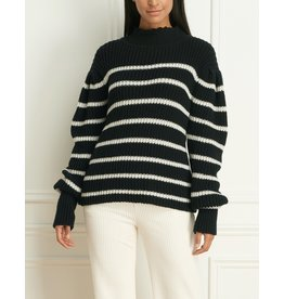Iris Louka Alpaca Wool Blend Stripe Sweater