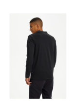 Matinique Poleo Long-Sleeve Rugby Collar Knit Shirt
