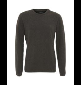 Clean Cut Crewneck Organic Cotton Multi Yarn Sweater