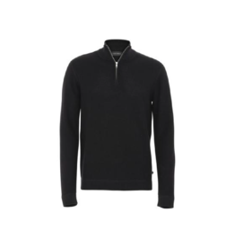 Clean Cut 1/4 Zip Mockneck Sweater