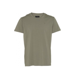 Clean Cut Roll Up Sleeve Organic Cotton Pocket Tee