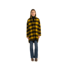 Good Match Single Button Recycled Wool Coat