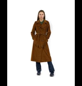 Good Match Velvet Trench Coat