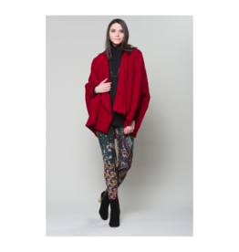 Ruelle Storm Poncho Combo Cardigan (2 Colours Available)