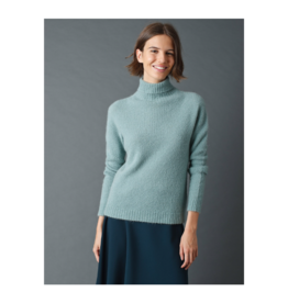 Indi & Cold Soft Knit Turtleneck Sweater