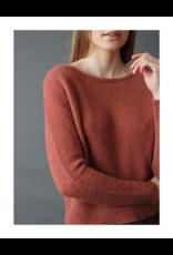 Indi & Cold Soft Knit Boatneck Sweater