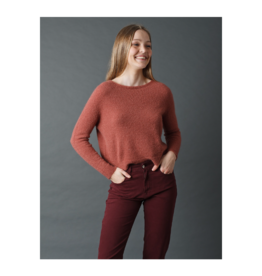 Indi & Cold Soft Knit Boatneck Sweater
