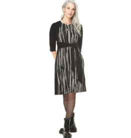 Annie 50 Claudia Waist Tie A-Line Dress