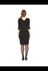 Annie 50 Karine 1/2 Sleeve Knit Dress w/Wrap Skirt