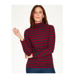 Thought Striped 100% Organic Cotton Turtleneck