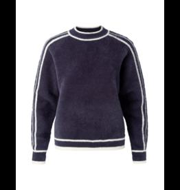 YaYa Athletic Crewneck Fuzzy Sweater (Multiple Colours Available)