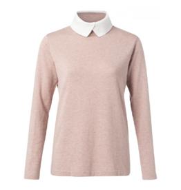 YaYa Knit Collar Sweater