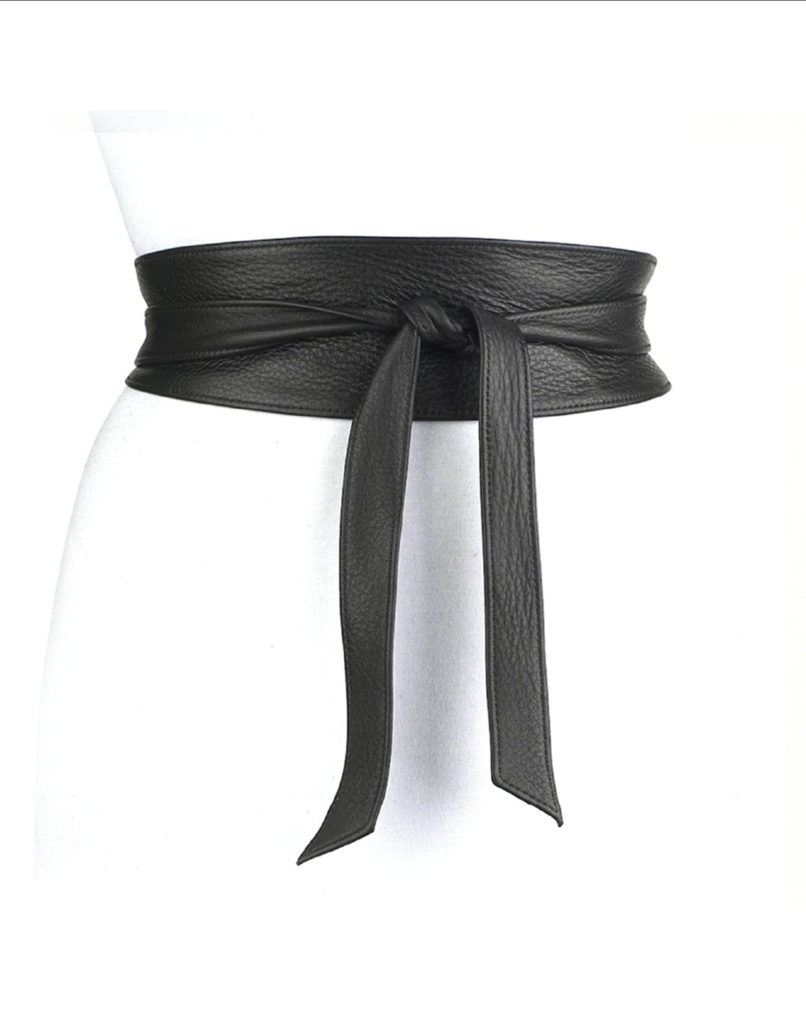 Brave Nida Tie Wrap Leather Belt