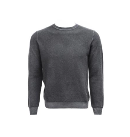 Stone Rose Waffle Wool Blend Crew Neck (Multiple Colours Available)