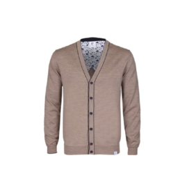 R2 Merino Slim Button Up Cardigan
