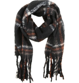 B. Young Multi Coloured Plaid Scarf