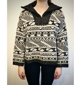 John & Jen Black Diamond Sweater