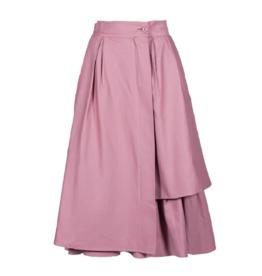 Anonyme Siria Angle Cotton Skirt