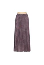 Anonyme Anonyme Serena Printed Pleated Maxi Skirt