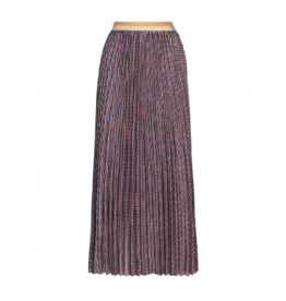 Anonyme Serena Printed Pleated Maxi Skirt