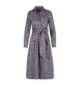 Anonyme Doreen Cotton Midi Fit & Flare Dress
