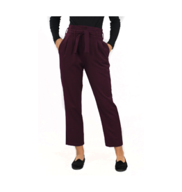 Good Match HR Belted Crop Pant