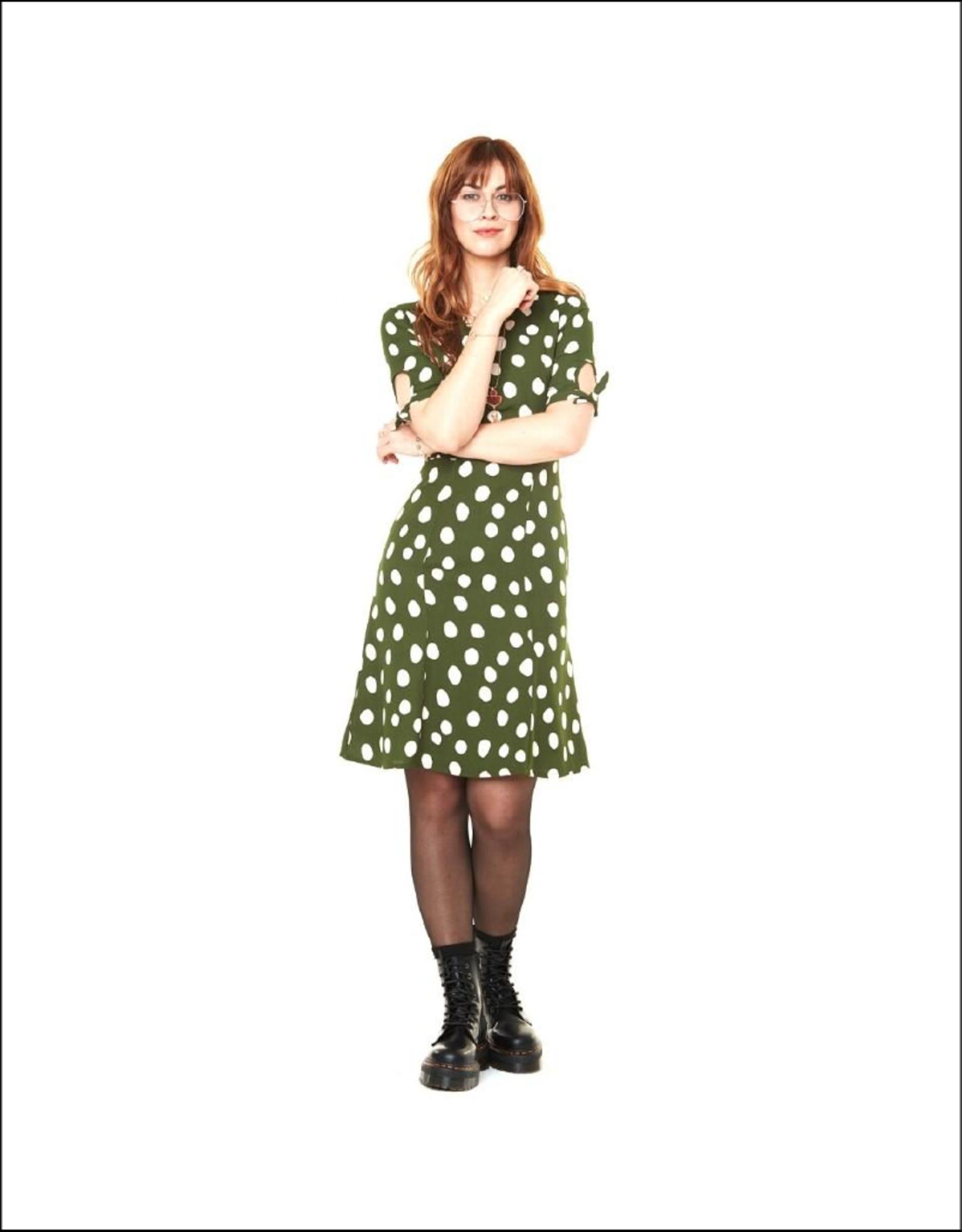 Annie 50 Tied Sleeve & Waist Lola Dress