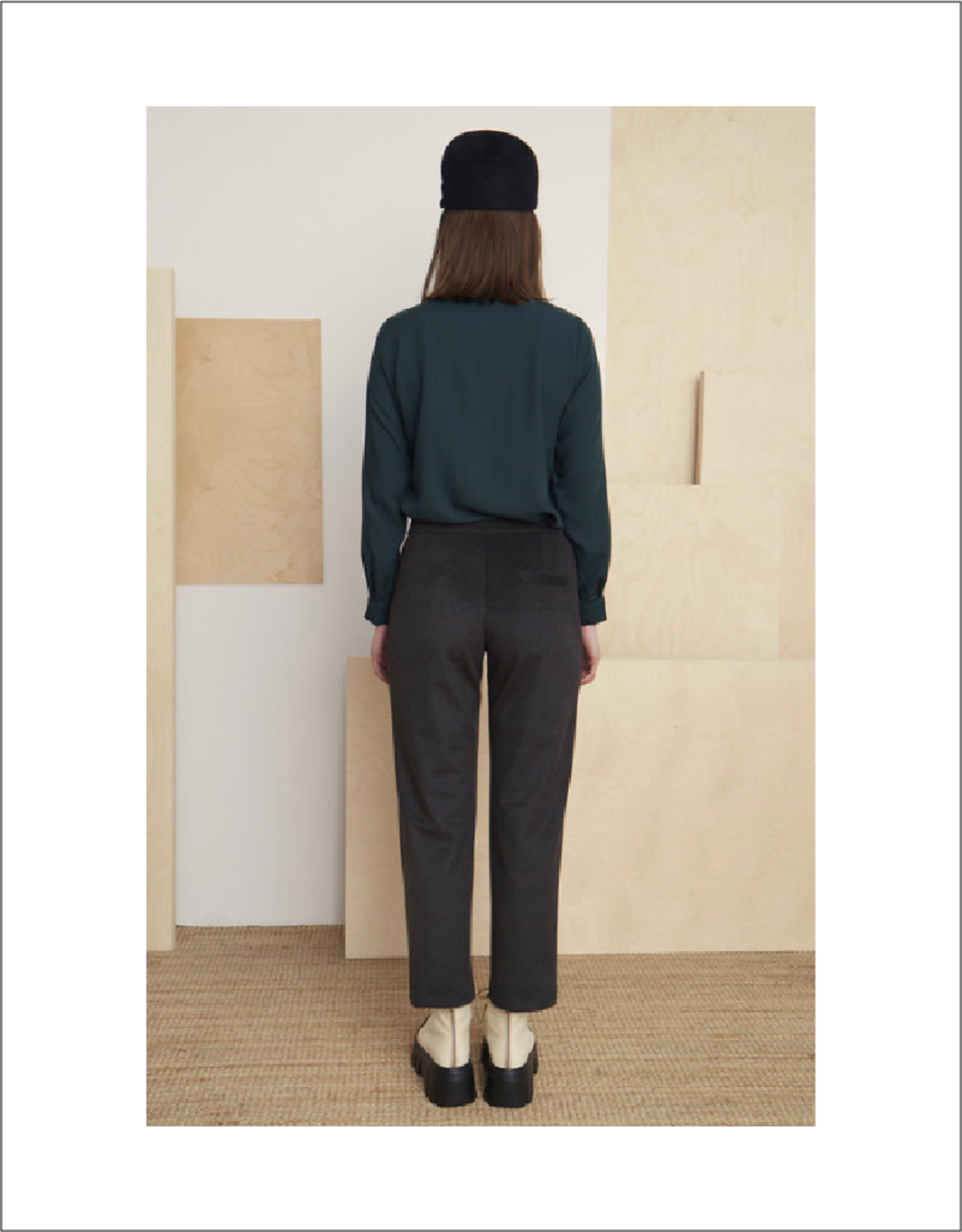 Bodybag High-Rise Slim Pant