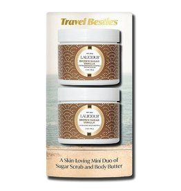 Lalicious Travel Besties Mini Scrub & Body Butter