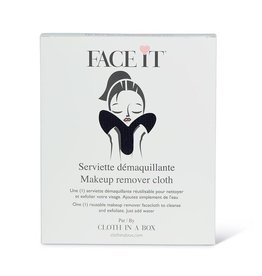 Face It Black Make Up Remover Cloth
