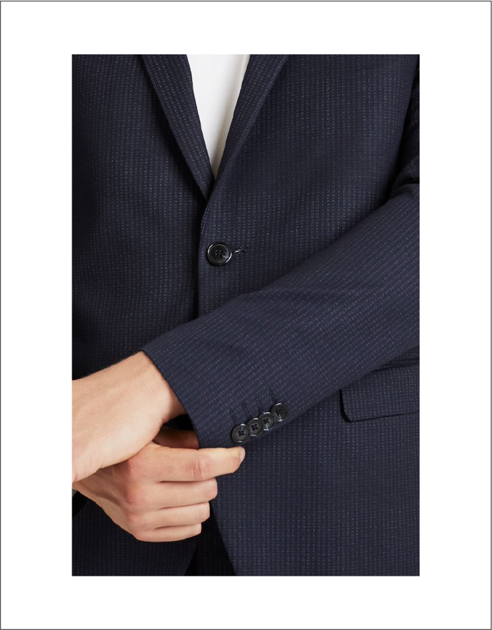 Matinique George Stripe Jersey Stretch Blazer