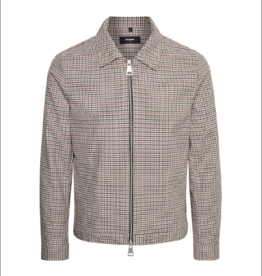 Matinique Bro Gingham Plaid Zip Up Club Jacket