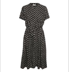 kaffe Waist Tie & Full Button Dress