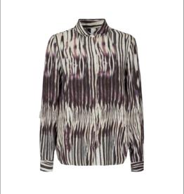 Soya Concept Zebra Print L/S Blouse