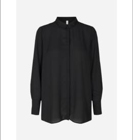 Soya Concept Satin L/S Button Up Blouse