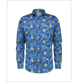Fish Named Fred Van Gogh L/S Button Up