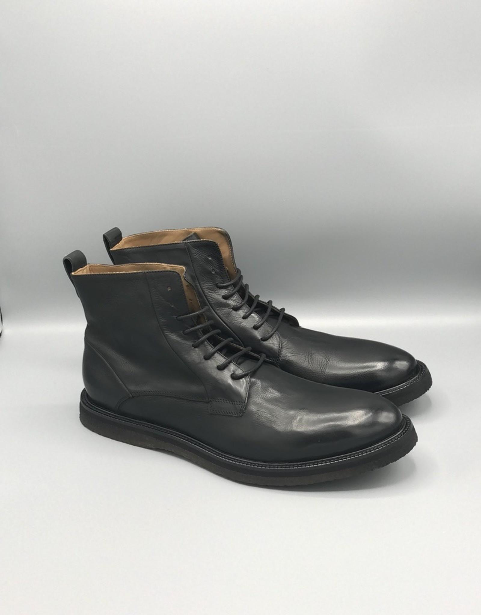 Manovie Toscane Manovie Toscane Phantom Classic Lace Up Leather Dress Boot