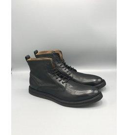 Manovie Toscane Phantom Classic Lace Up Leather Dress Boot