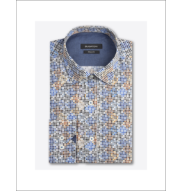 Bugatchi Uomo Geo Multi Dot L/S Button Up