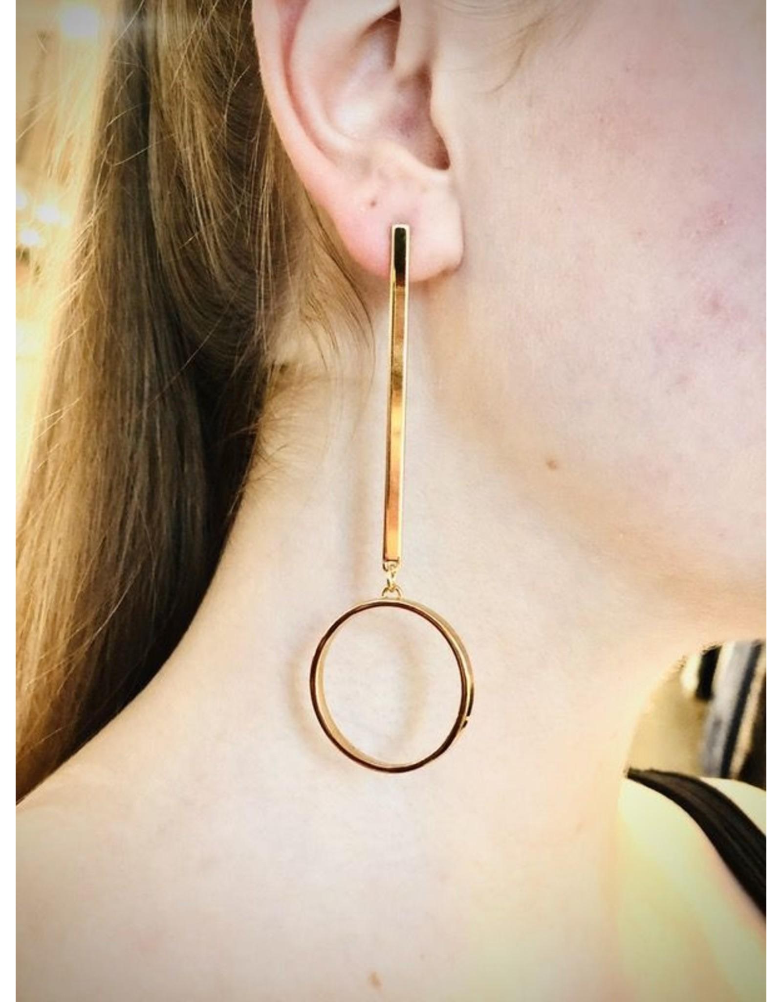 Jenny Bird Jenny Bird Gold Edie Hoop Earrings