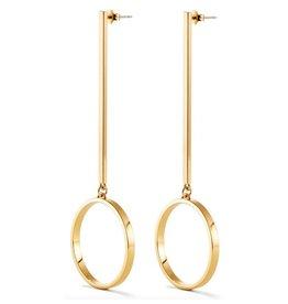 Jenny Bird Gold Edie Hoop Earrings