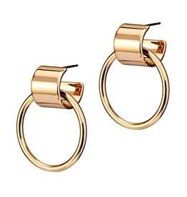 Jenny Bird Faye Knockers Hoop Earrings
