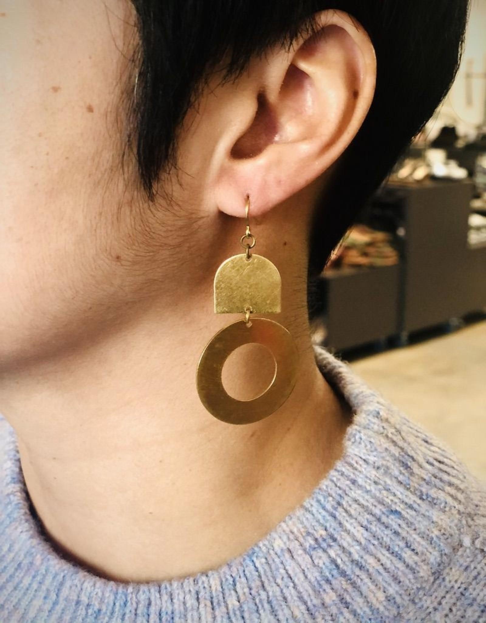 Darlings of Denmark Kubb Earrings