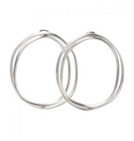 YaYa Double Hoop Earrings