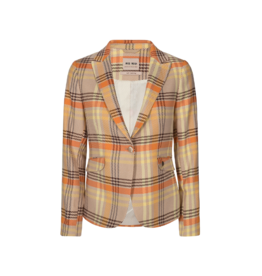Mos Mosh Blake Joy Single Button Plaid Blazer