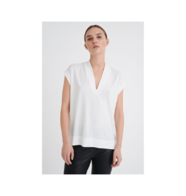 Inwear Yamini Stretchy V-Neck Top (4 Colours Available)