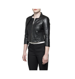 Bano eeMee Vienna Scallop Back Leather Jacket