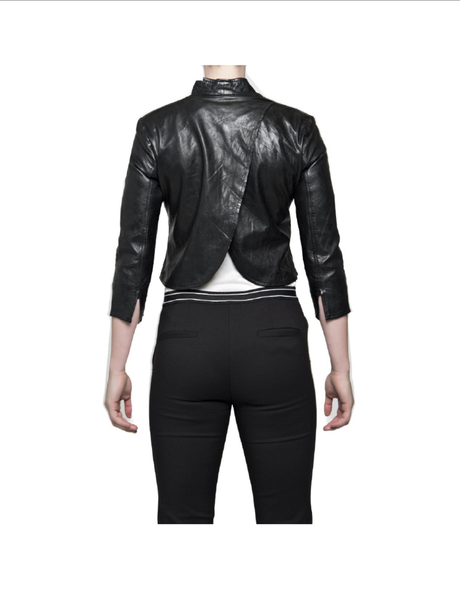 Bano eeMee Vienna Scallop Back Leather Jacket