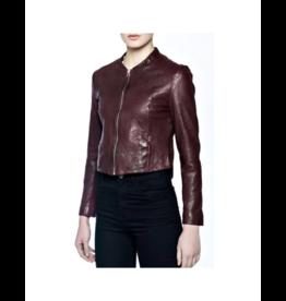 Bano eeMee Liza Leather Zip-Back Jacket