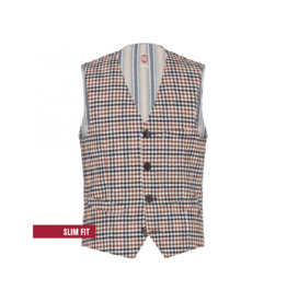 Club Of Gents Mosley Tailored Dogtooth Vest